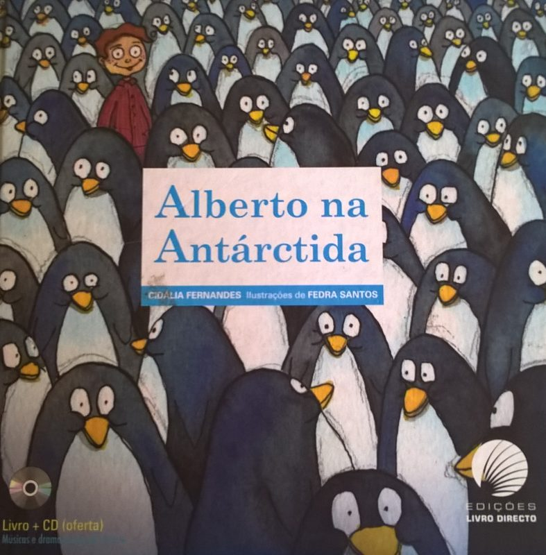 Alberto na Antárctida